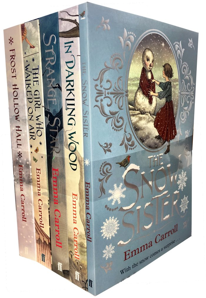 Emma Carroll paperbacks, Faber & Faber 1