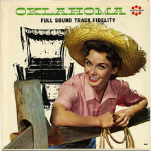 Al Goodman and His Orchestra – <cite>Oklahoma</cite> album art