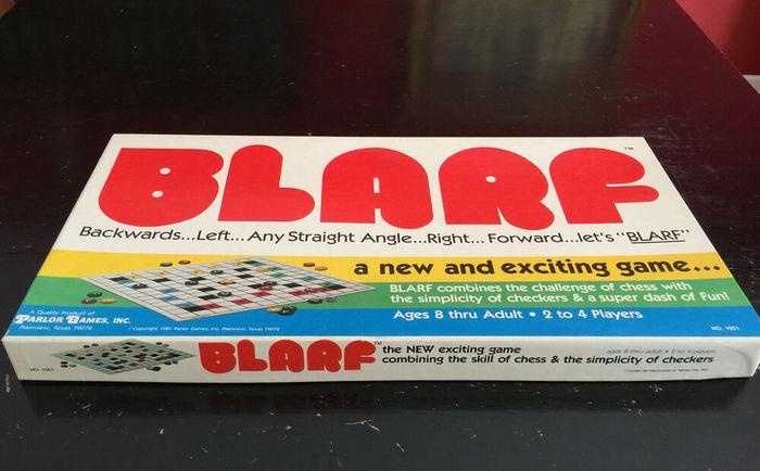 Blarf board game (1981) 2