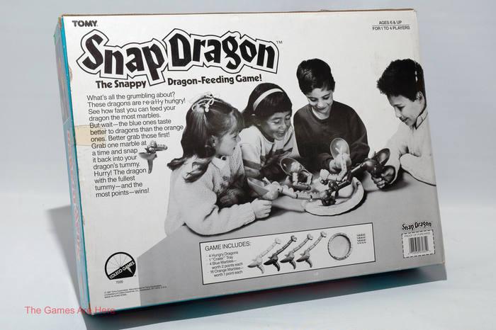 Snap Dragon board game (1987) 2