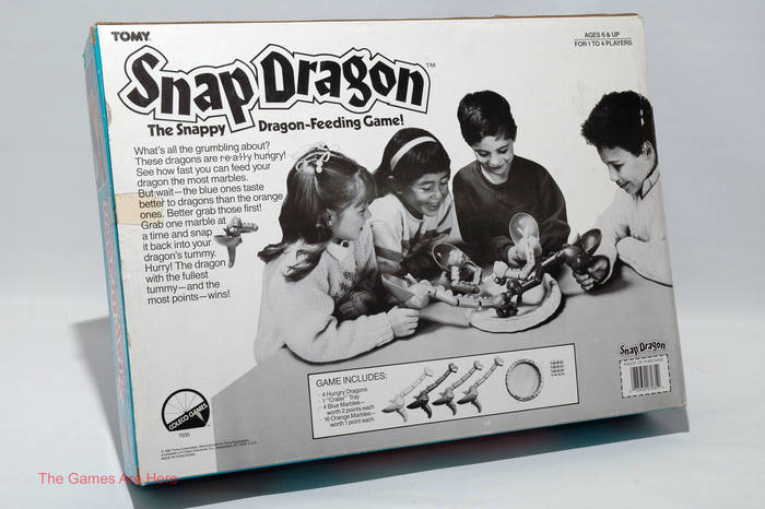 Snap Dragon board game (1987) 2