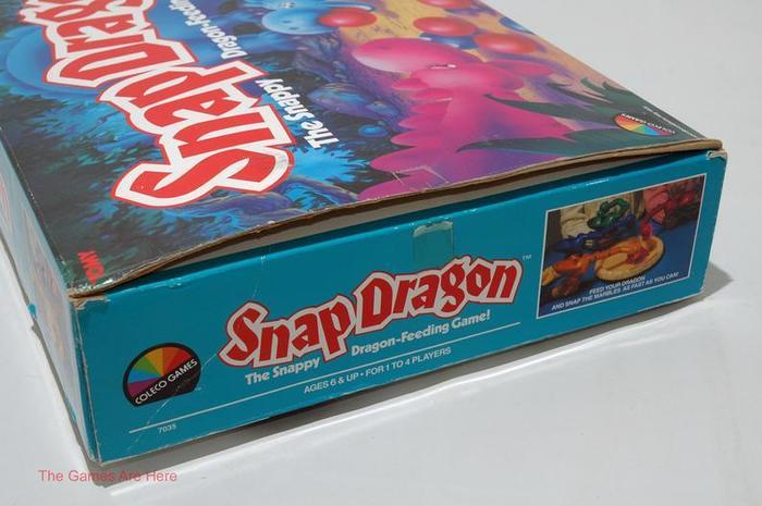 Snap Dragon board game (1987) 3