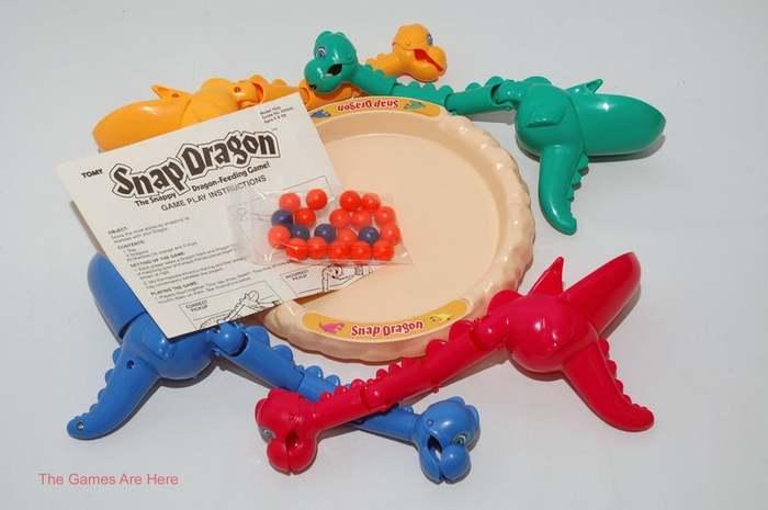 Snap Dragon board game (1987) 4