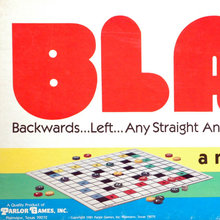 <cite>Blarf </cite>board game (1981)