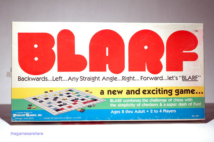 Blarf board game (1981) 1