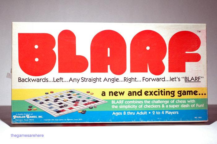 Blarf board game (1981) 1
