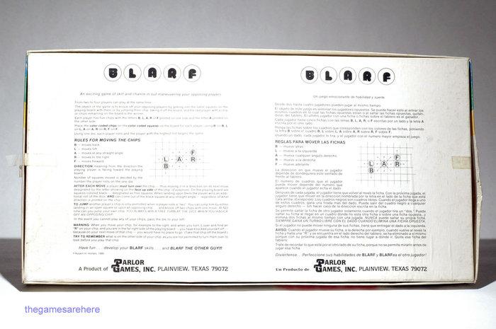 Blarf board game (1981) 3