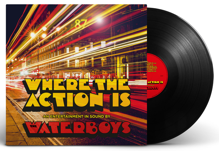 The Waterboys – Where The Action Is album art 1