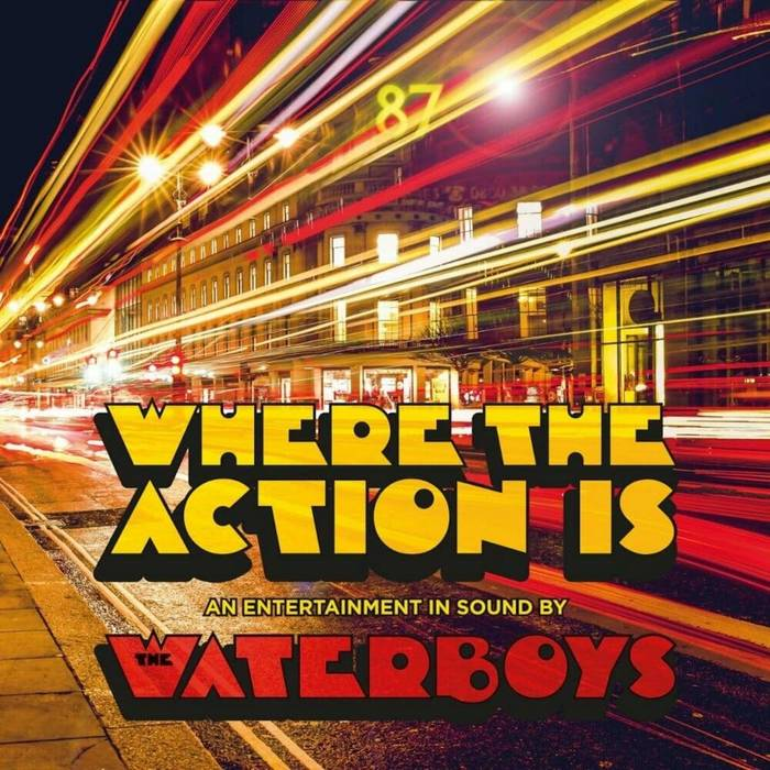 The Waterboys – Where The Action Is album art 6
