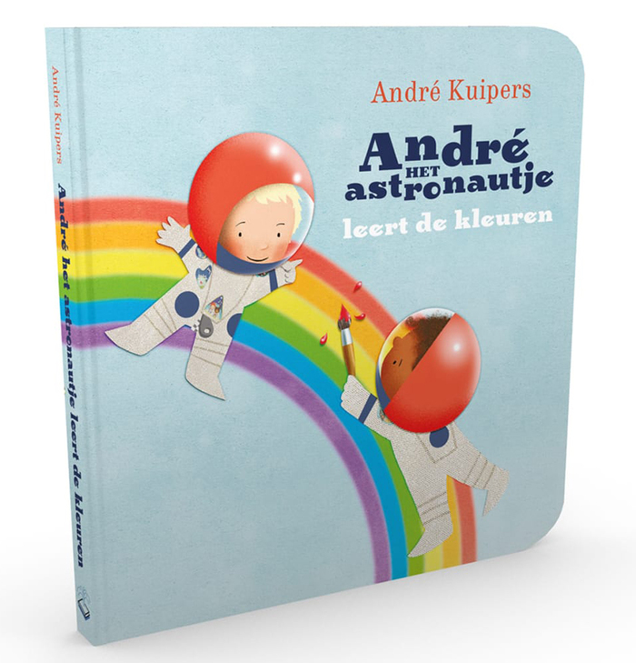 "André het astronautje leert de kleuren (""André the little Astronaut learns the colors"")"