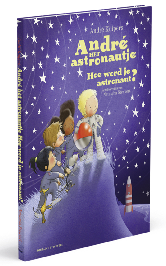 "Hoe word je astronaut? (""How do you become an astronaut?"")."