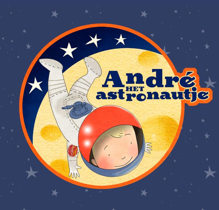 André het Astronautje 1