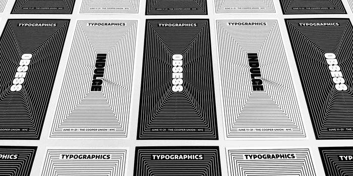 Typographics 2018 branding 3