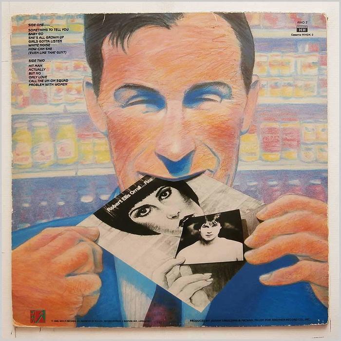 Robert Ellis Orrall – Fixation album art 2