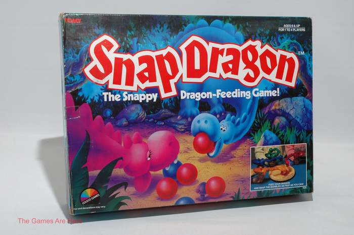 Snap Dragon board game (1987) 1