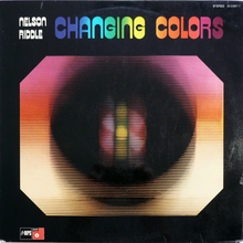 Nelson Riddle – <cite>Changing Colors </cite>album art