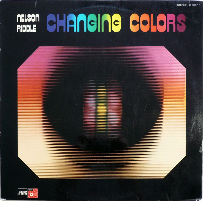 Nelson Riddle – Changing Colors album art 1