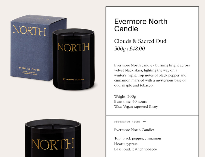 Evermore London Candles 6