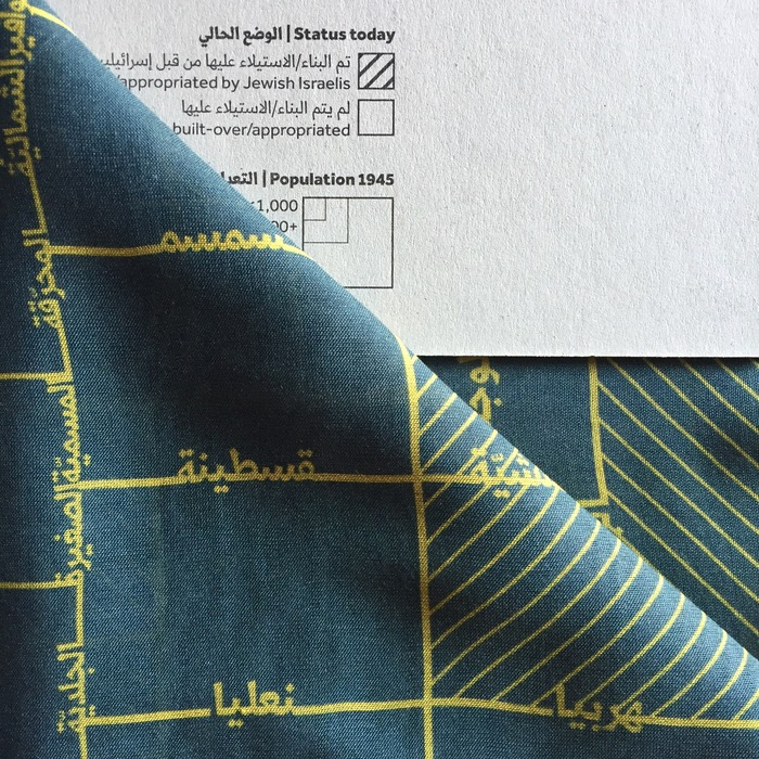 Visualizing Palestine scarf 4