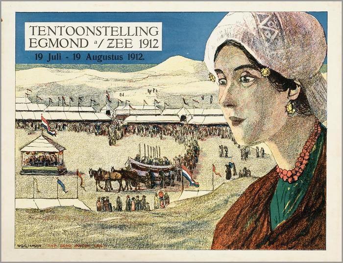 Tentoonstelling Egmond a/ Zee 1912
