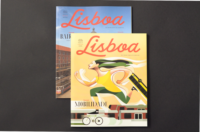 Lisboa magazine redesign (2019) 2