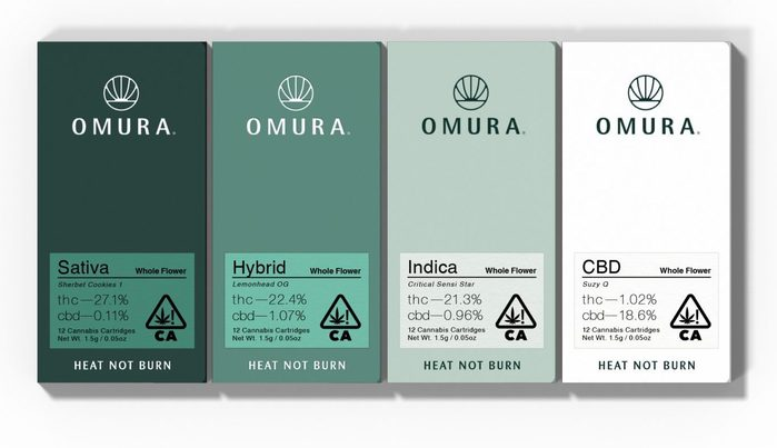 Omura cannabis products 1