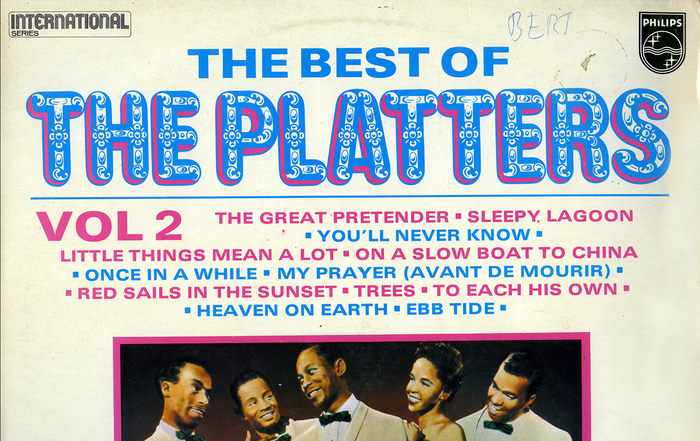 The Platters – The Best of (Vol 1 & 2) album art 1