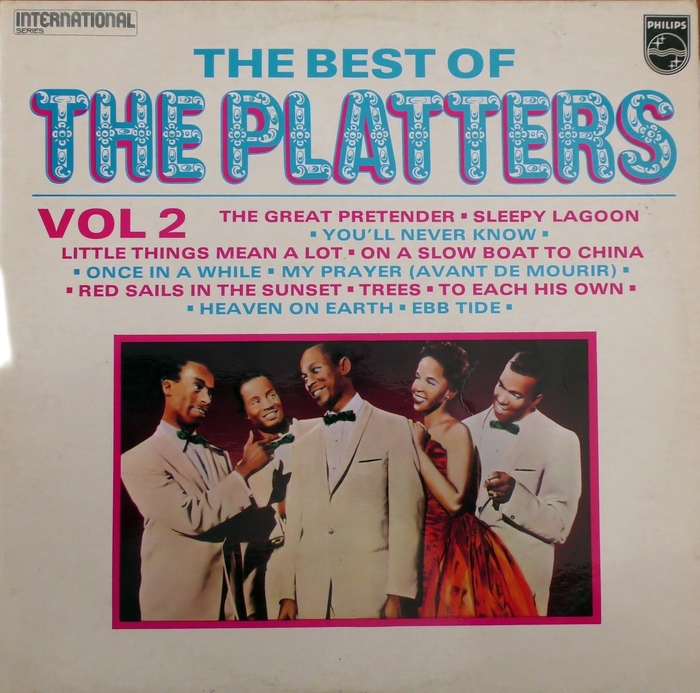 The Platters – The Best of (Vol 1 & 2) album art 2