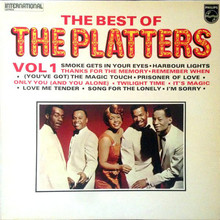 The Platters – <cite>The Best of</cite> (Vol 1 &amp; 2) album art