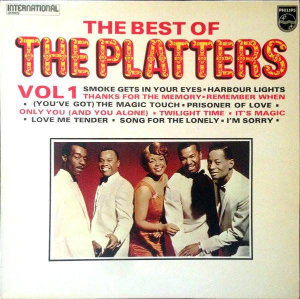 The Platters – The Best of (Vol 1 & 2) album art 3