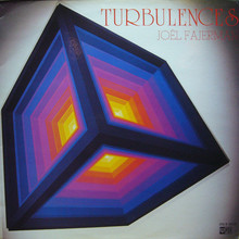 Joël Fajerman – <cite>Turbulences</cite> album art