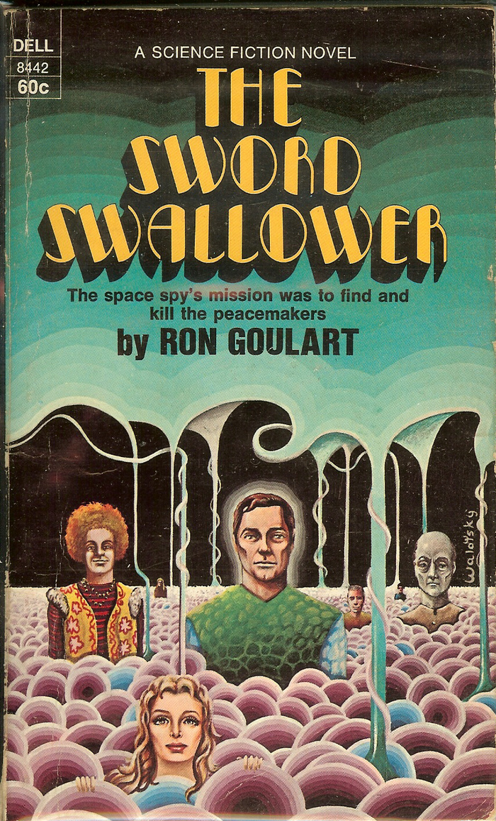 The Sword Swallower by Ron Goulart (Dell)