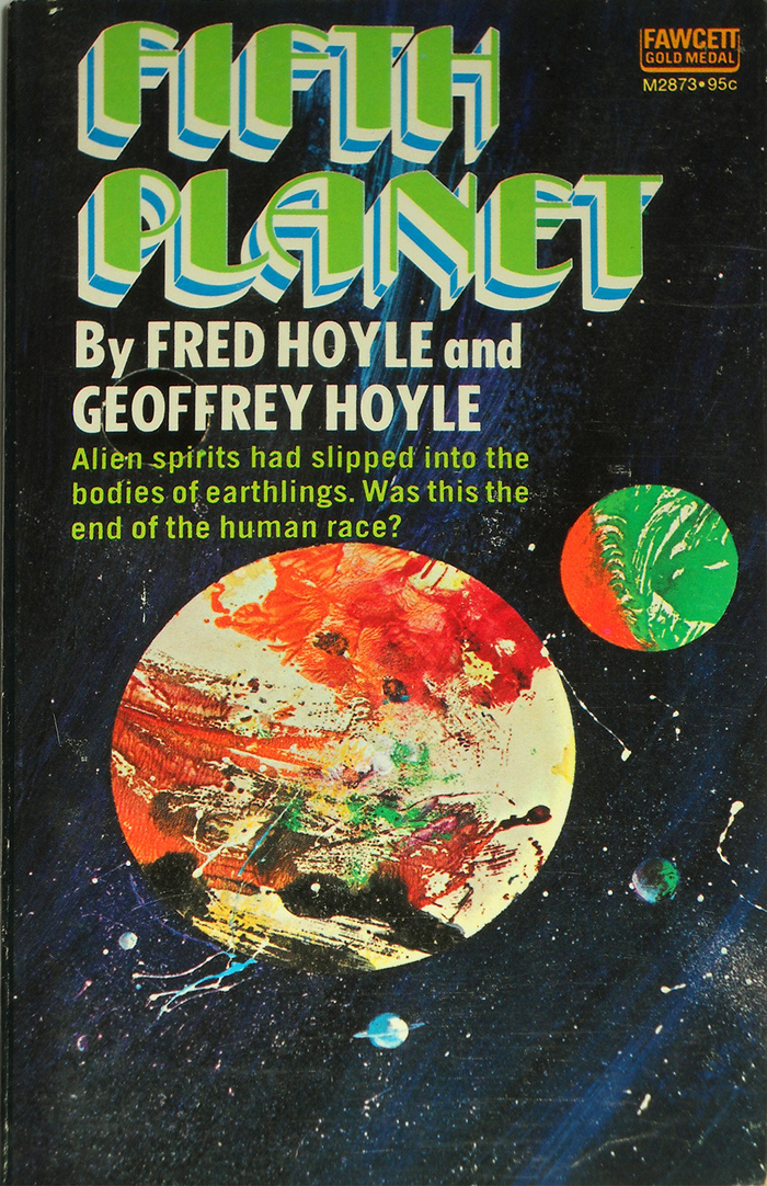 Fifth Planet by Fred and Geoffrey Hoyle (Fawcett) 1