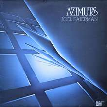 Joël Fajerman – <cite>Azimuts</cite> album art
