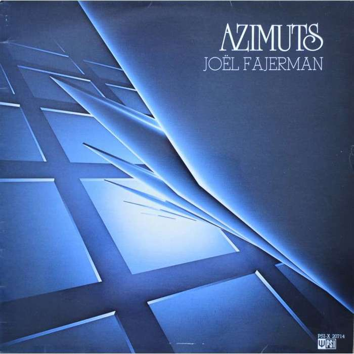 Joël Fajerman – Azimuts album art 1