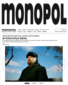 <cite>Monopol</cite> online redesign (2019)