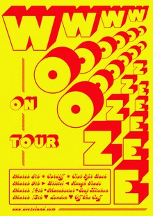 Wooze posters and album artwork (2019)