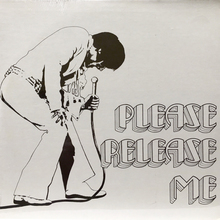 Elvis Presley – <cite>Please Release Me</cite> (1st Records) album art