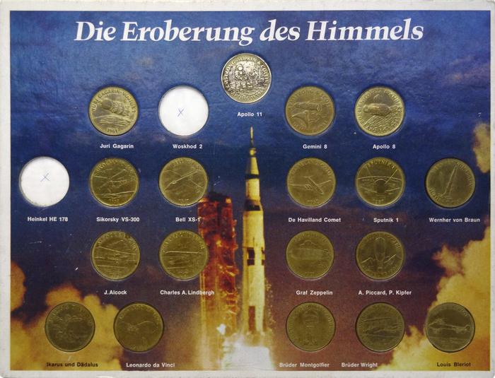 Die Eroberung des Himmels, Germany, starring Trump-Mediäval Kursiv fett