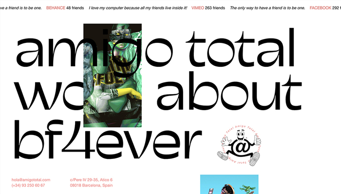 Amigo Total website 1