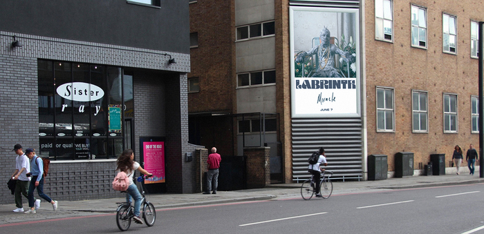 Shoreditch billboard, June 8 2019