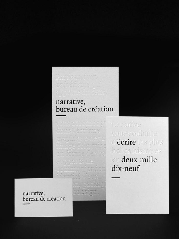 Narrative, bureau de création 1