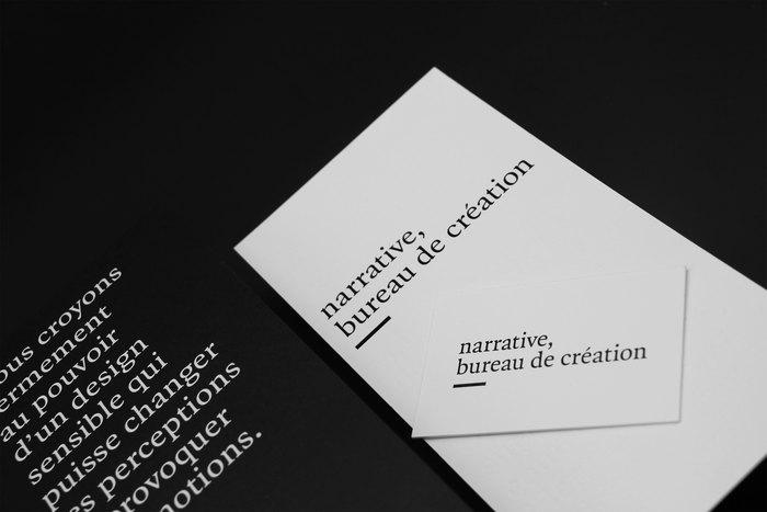 Narrative, bureau de création 6