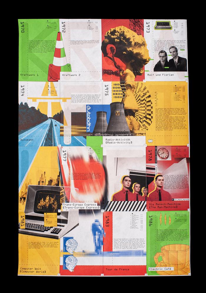 Kraftwerk tribute poster 1