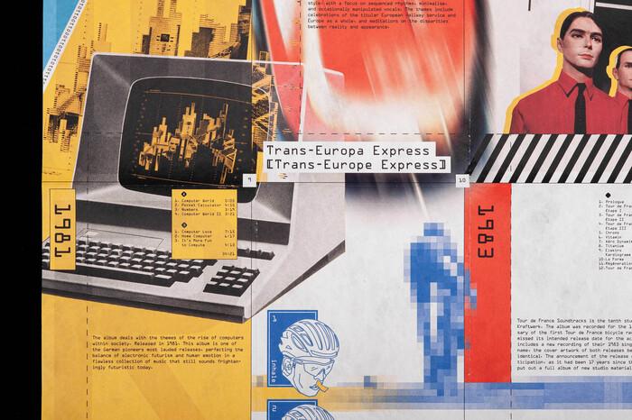 Kraftwerk tribute poster 2