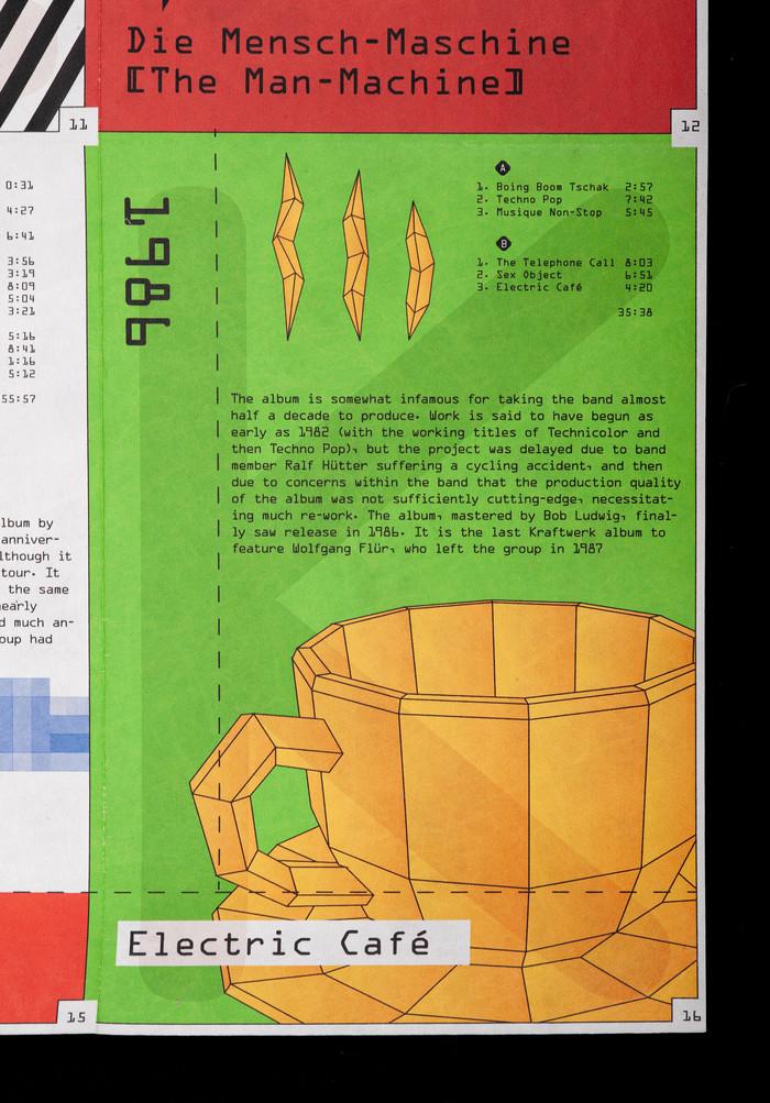 Kraftwerk tribute poster 4