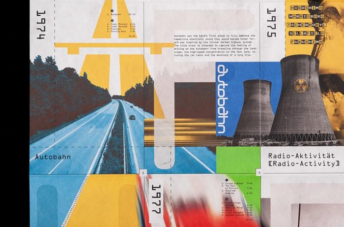 Kraftwerk tribute poster 3