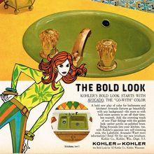 """The Bold Look"" Kohler Co. ad (1967)"