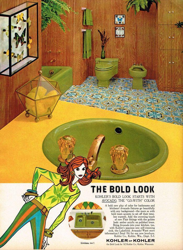 """The Bold Look"" Kohler Co. ad (1967)"