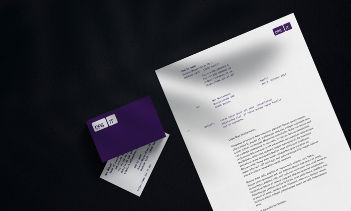 CPS-IT brand identity 8